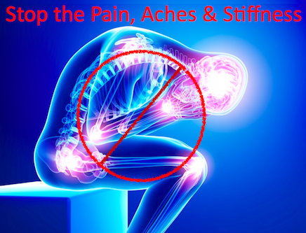 Stop the Pain Aches Stiffness Home