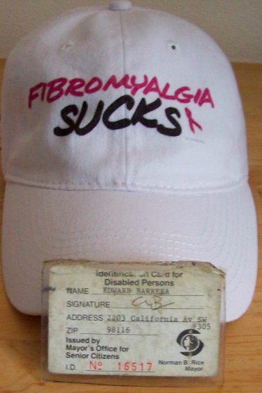 Fibromyalgia Sucks Cap