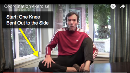 Somatics Coordination Exercise - Knee Out to Side