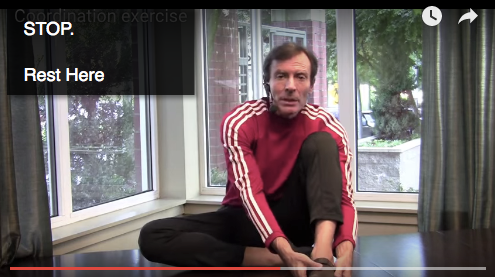 Somatics Coordination Exercise - Stop, Rest, Pause