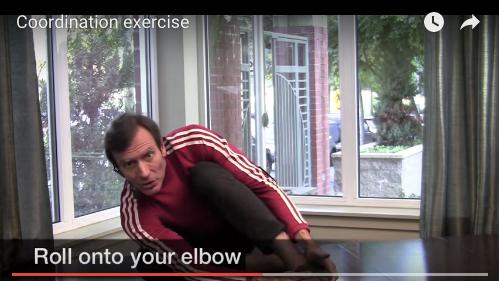 Somatics Exercise - Roll onto Elbow