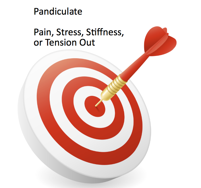 Pandiculate Out Pain, Stiffness, Stress or Tension