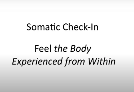 A Somatic Check-in Anyone Can Do