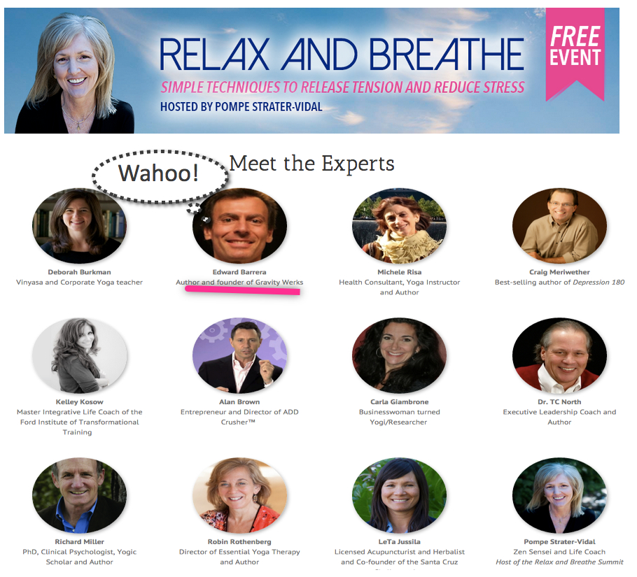 Meet the Experts - Relax and Breathe