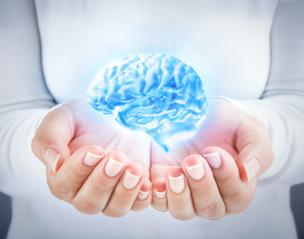 Brain and body in your hands